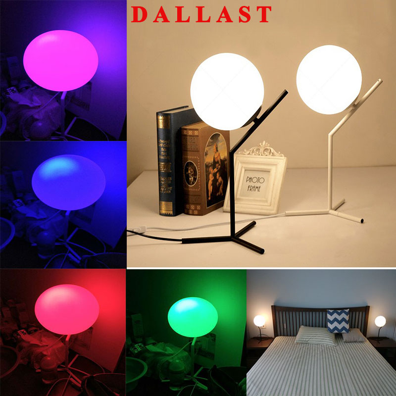 RGB LED Lamp Table Lamp Reading Lamp Book Lights Night Lights Bedside Lamp In Living Room Bedroom Study Room 10W DALLAST three dimensional 3d visual reading lights wood acrylic clear small lamp button type led stereo night light folding book lights