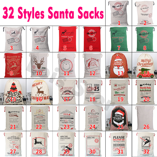 Santas swinging sack remarkable