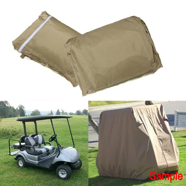 2 Sizes Weeder cover golf car cover Patio Rain Snow Dustproof  Sunscreen Covers
