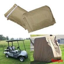 Cubierta de 2 tamaños Weeder cubierta de coche de golf Patio lluvia nieve protector solar a prueba de polvo