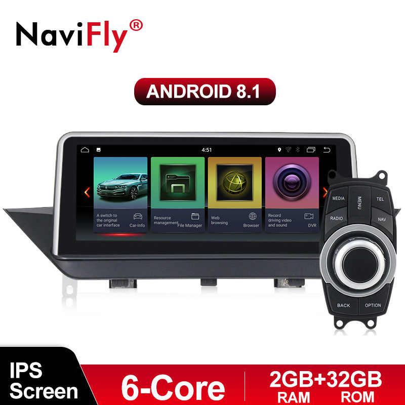 10,25 ''2gb ГБ + 32 ГБ, android 8,1 Система Автомобильный gps навигатор для BMW X1 E84 2009-2015 Все гольфкарты оснащены Радио rds ipod оригинальная автомобиля функции