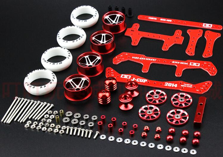 YIKA DARK HORSE Modify Parts Aluminum Alloy Wheels Guide Rollers Reinforcing Plates For YANG KAI Mini
