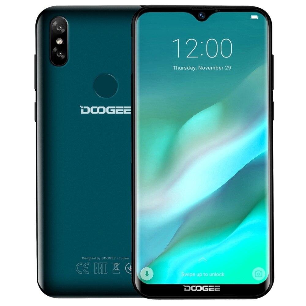 Original DOOGEE Y8 4G Mobile Phone Android 9 0 3GB RAM 16GB ROM Quad Core Smartphone