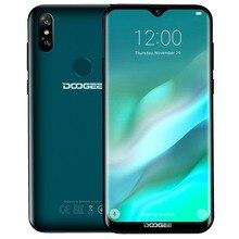 Orijinal DOOGEE Y8 4G Cep Telefonu Android 9.0 3 GB RAM 16 GB ROM Dört Çekirdekli Akıllı Telefon 6.1