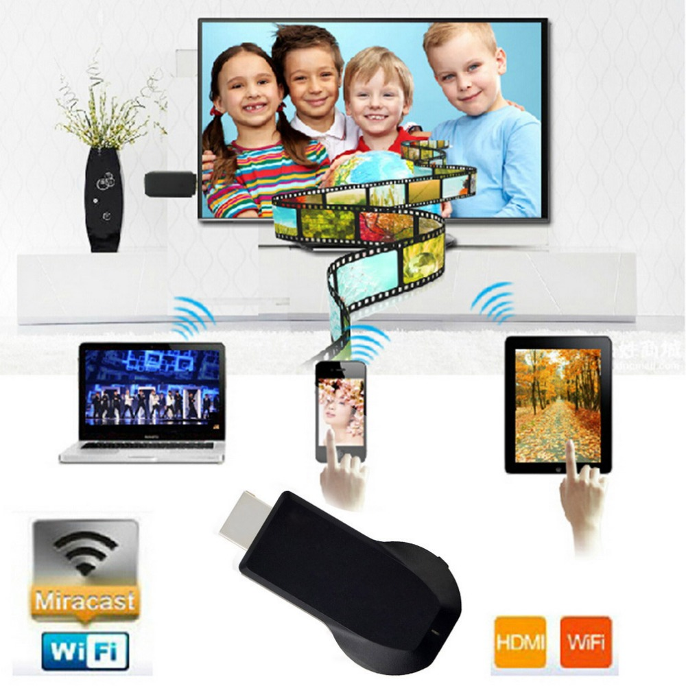 Dehyaton M2 Plus Wireless WiFi Display Dongle Receiver 1080P HD Interface TV Stick DLNA Airplay Miracast for Smart Phones PC