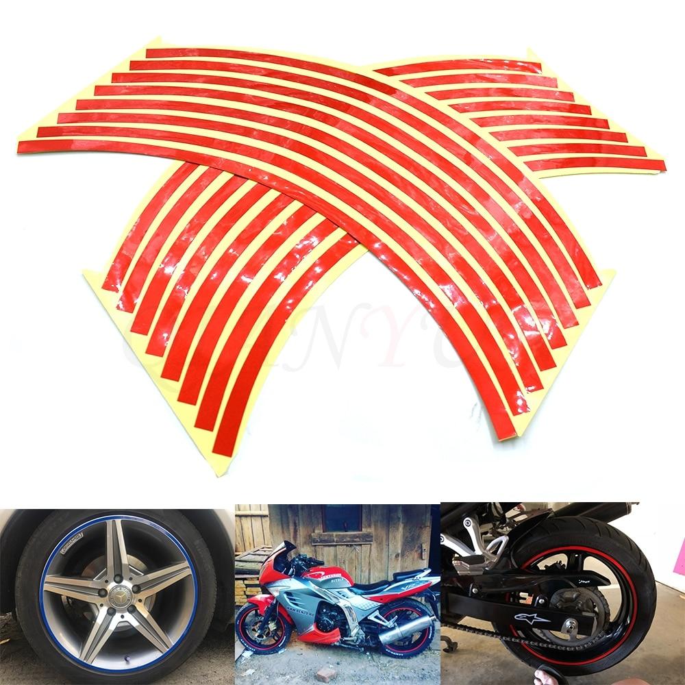 19 /& 21 INCH DIRT BIKE RIM PROTECTORS WHEEL DECALS TAPE GRAPHICS MOTORCYCLE