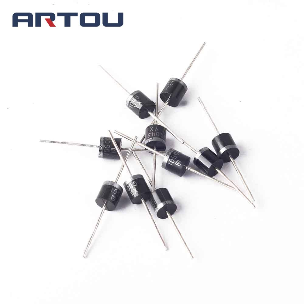 5pcs 10sq045 10a 45v Schottky Diodes A430 Rectifiers Mounted On A Printed Circuit Boards For