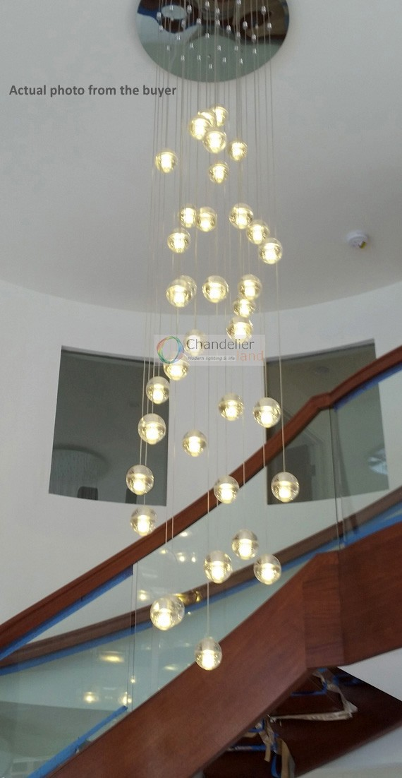 Two Pieces Of 36 Pendants Chandelier With A Round Canopy In Chandeliers From Lights Amp Lighting