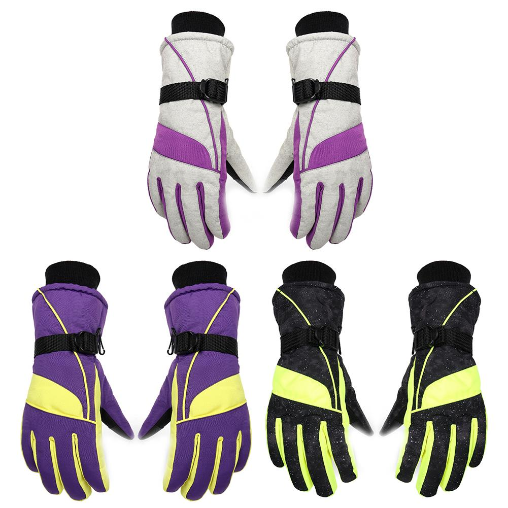 Winter Ski Gloves Women's Outdoor Sports Riding Winter Warm Touch Screen Gloves