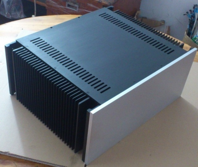 Class A big chassisTachia aluminum amplifier chassis A-50 for 50W Class A circuit