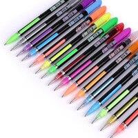 12 24 36 48 Gel Pens Set Color Gel Pens Glitter Metallic Pens Good Gift For