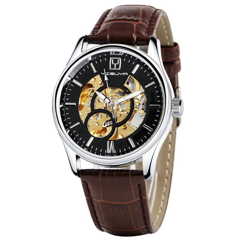 Relojes mecánicos automáticos de lujo de YISUYA Relojes analógicos - Relojes para hombres - foto 3