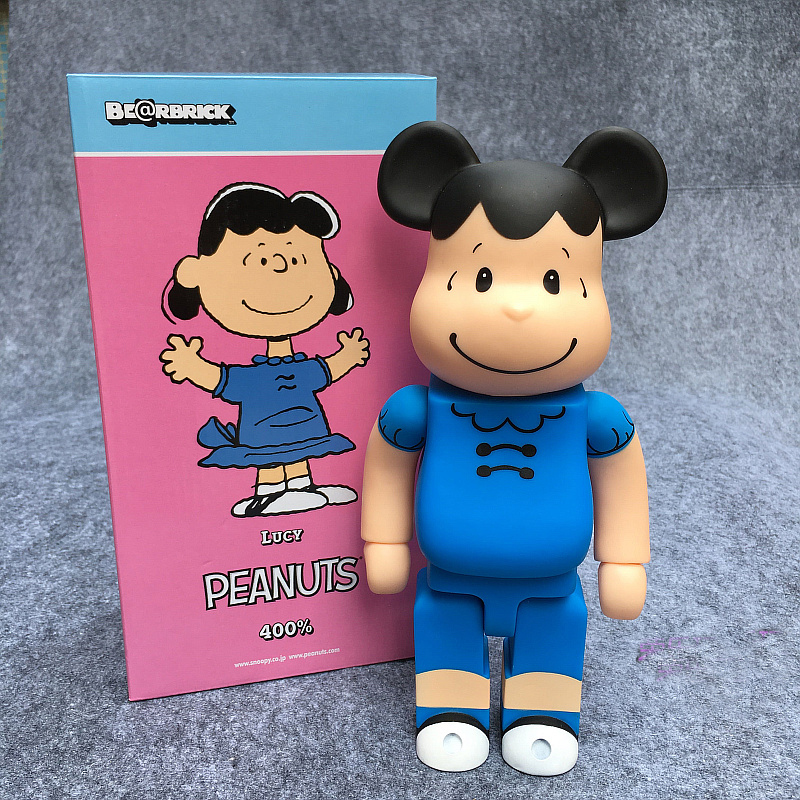 400% Be@rbrick 11 inch bearbrick LUCY PVC action figure medicom toy figure Toy Brinquedos Anime new arrival be rbrick bear bearbrick pvc action figure toy 52cm vinyl art figure as a gift for boyfriends