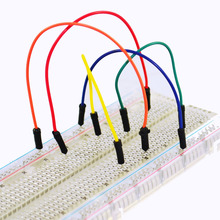 Free shipping !  High quality 830 hole transparent breadboard  test board 165X55mm
