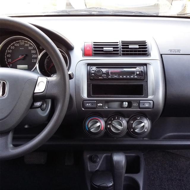 Fascia for Honda Jazz One Double Din Radio DVD Stereo CD Panel Mount Installation Trim Kit Frame Bezel