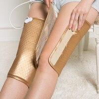 JORZILANO Heating Therapy Arthritis Rheumatism Treatment Device Vibration Electric Foot Leg Massager Heat Joint Knee Pads