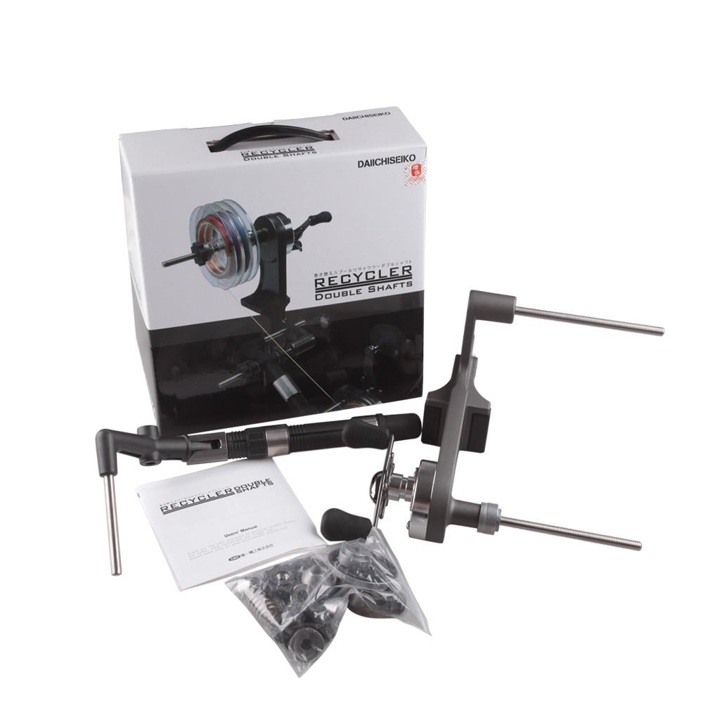 DAIICHISEIKO Portable Fishign Line Winder 3KG Drag Reel Spool Spooler System For Spinning/Baitcasting Fishing Reel Winding Board - 6