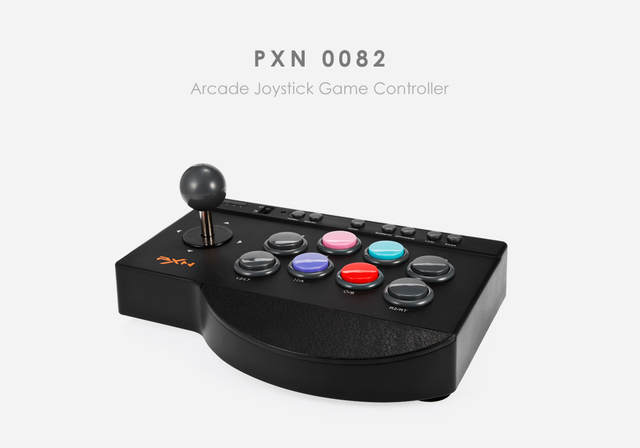 US $35 99 |PXN 0082 Arcade Joystick Game Controller Wired Gamepad for  PC/PS3/PS4/Xbox one TURBO and MACRO function Support Switch-in Gamepads  from