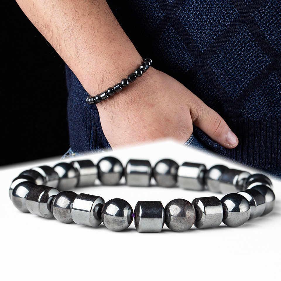 2019 חדש עיצוב גברים צמיד המטיט אבן Slim בריאות הרזיה חרוזים צמידים וצמידים לנשים גברים של תכשיטי מתנה pulseira