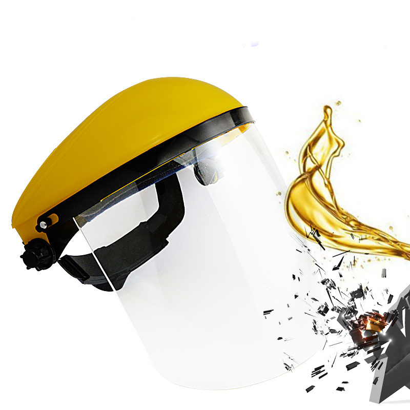 CCGK Protection mask PC transparent anti shock anti splash mask light weight and comfortable for kitchen