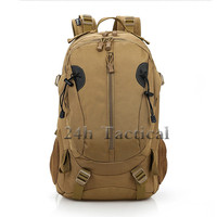 Nylon Camo Tactical Backpack Military Army Waterproof Hiking Hunting Backpack Tourist Rucksack Sports Bag