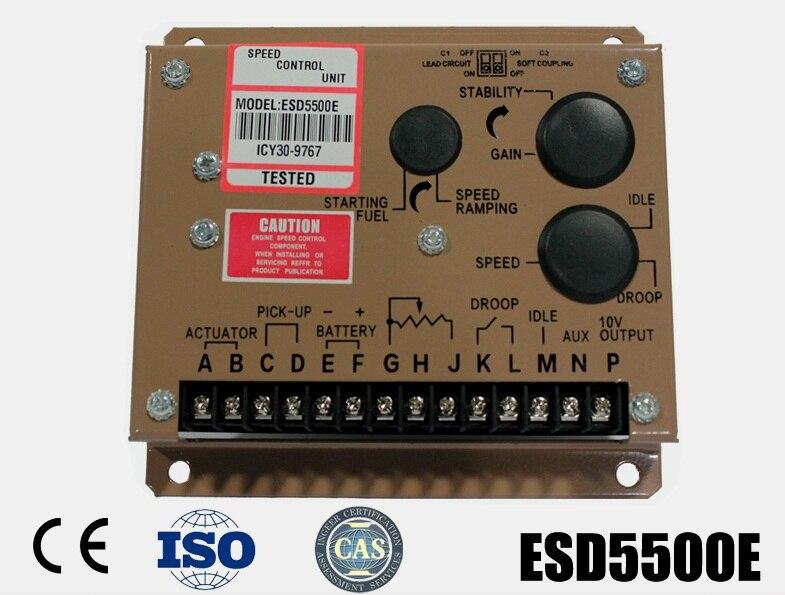 Régulateur de vitesse ESD5500E pour pièces de générateur d'alternateur Diesel accessoire
