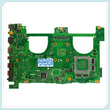 For For Asus N550J G550J N550JV G550JK Laptop Motherboard w  i7-4700HQ Mainboard 100% Work