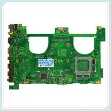 For For Asus N550J G550J N550JV G550JK Laptop Motherboard w  i7-4700HQ Mainboard 100% Work