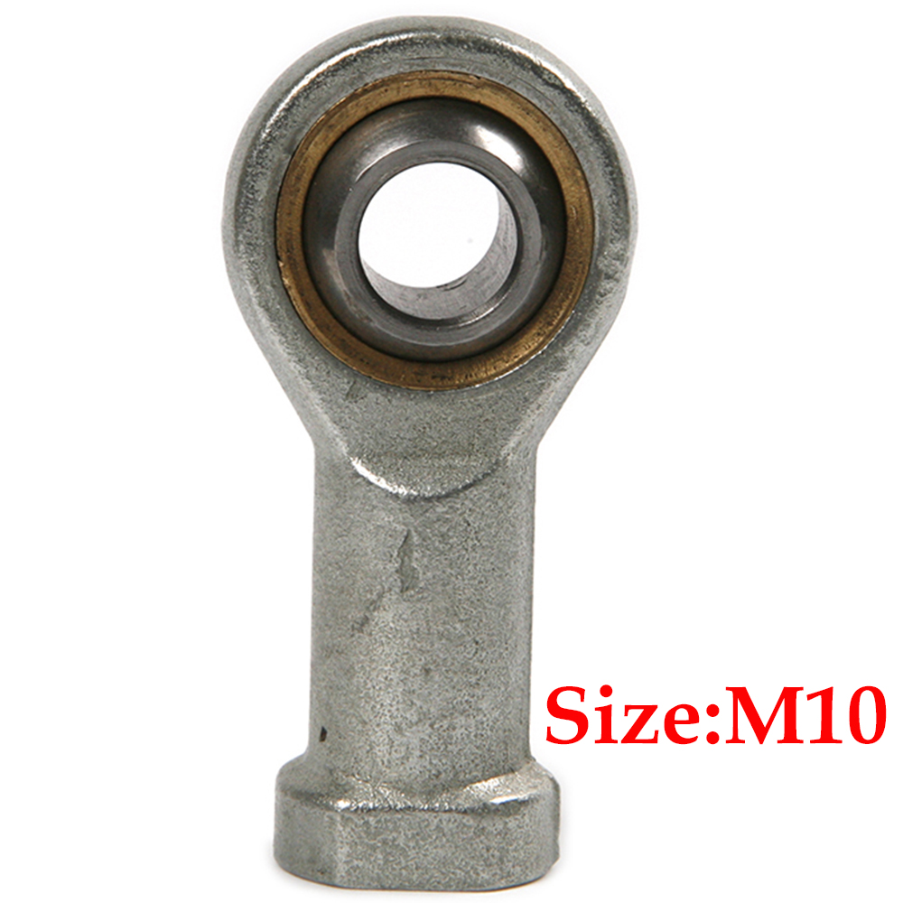 Female Right Hand Thread Connector Rod End Joint Bearing Bearing Steel M10 1pcs lot 16mm female right hand thread rod end joint bearing metric thread m16x2 0mm si16t k phsa16 brand new