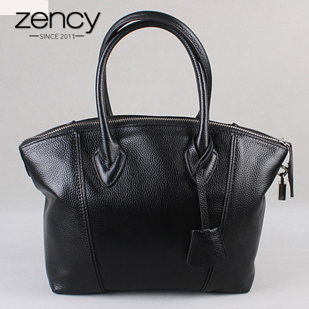 Fashion Designer Brand 100% Genuine Leather Women Handbags Casual Tote Bag Large Capacity Cowhide Messenger Crossbody Bolsas chispaulo women genuine leather handbags cowhide patent famous brands designer handbags high quality tote bag bolsa tassel c165