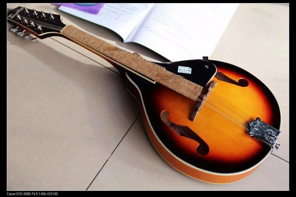 Nouveauté Cnbald mandoline ukulélé Instruments à cordes musique sunburst 111223