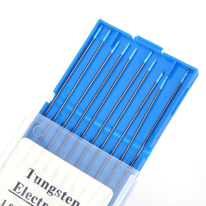10 шт./кор. WL20 Lanthanum вольфрамовые электроды сварочные стержни для сварочного аппарата 1,0/1,6/2,0/2,4/3,0/3,2 мм