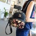 Saco stacy venda quente menina pequena mochila da senhora do vintage floral impressão mochila de viagem crianças crianças mini saco