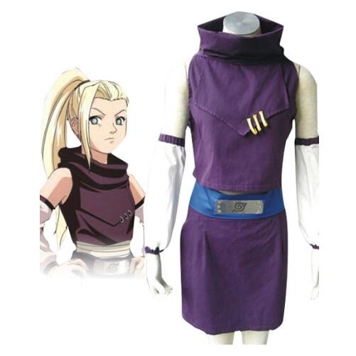 Shippuden Naruto Ino Yamanaka  Cosplay Costume New Fashion Anime Character Role Play Halloween
