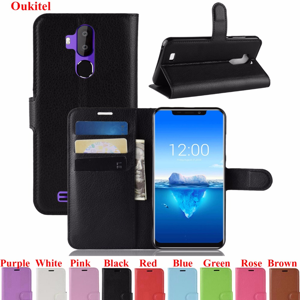 For <font><b>Oukitel</b></font> C11 Pro <font><b>C11Pro</b></font> YINGHUI Case For <font><b>OUKITEL</b></font> C12 Pro Litchi Leather Phone Shell Bag For <font><b>Oukitel</b></font> C12Pro Cover image