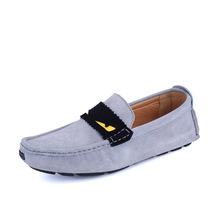 Europe Brand Men's Shoes Casual Loafers Slip on Suede Driving Shoe Leisure Flats Shoes Soft Moccasins Fashion Zapatos 2A