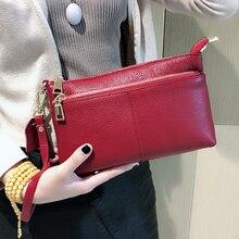 BAQI Women Handbags Shoulder Bags 2019 Fashion Genuine Leather Cowhide Luxury Designer Women Messenger Crossbody Bag Purse Lady недорого