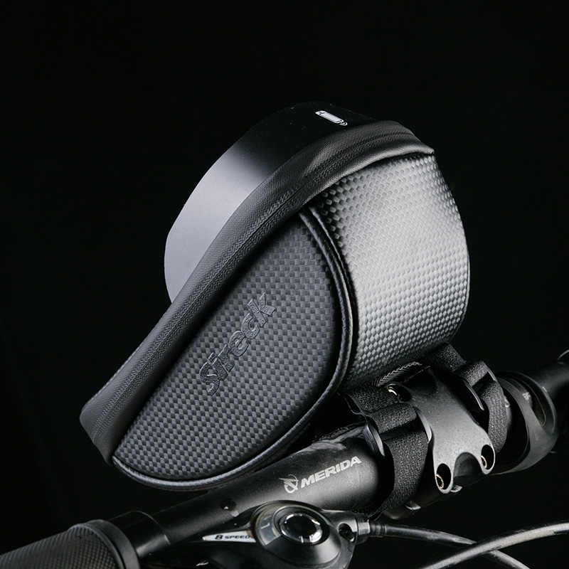 Sireck จักรยานผู้ถือโทรศัพท์ 6.0 นิ้วกันน้ำสมาร์ทโทรศัพท์มือถือ Mount Bracket จักรยาน Handlebar ผู้ถือขาตั้งโทรศัพท์