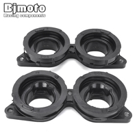 BJMOTO For Yamaha FZ6 FZ6R 2009 2017 Motorcycle Intake Carburetor Adapter Interface Boot Connector 20S 13586 00 20S 13596 00