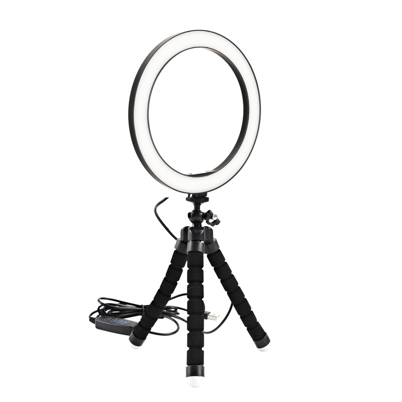 Ring Light 26 cm LED com Tripé 1