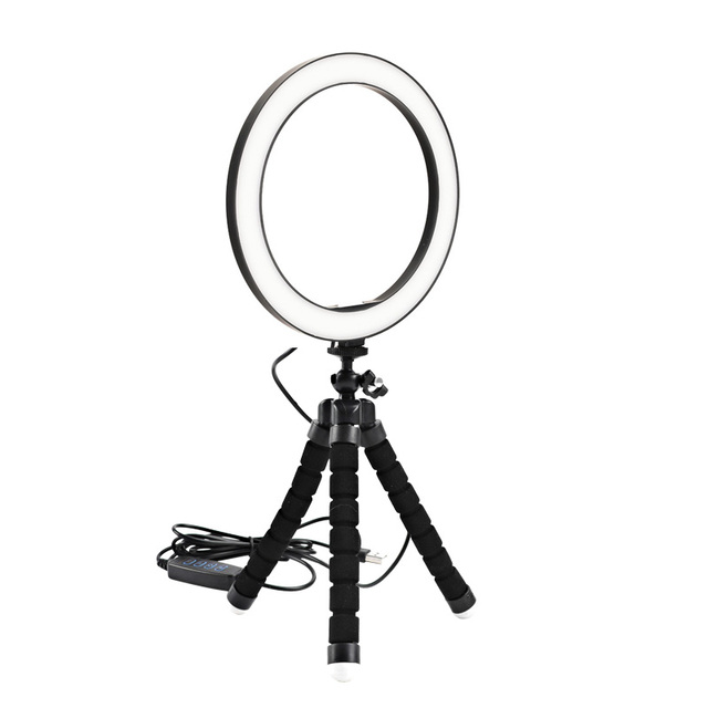 26cm 10inch LED Selfie Ring Light Dimmable LED Ring Lamp Photo Video Camera Phone Light ringlight