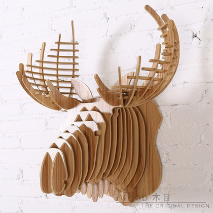 Scandinavian Nordic iWood factory direct Tau Wall Continental wood crafts creative home decorations wall hangings free shipping