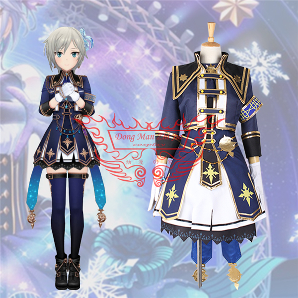 THE IDOLM@STER CINDERELLA GIRLS ANASTASIA Cosplay Costume Dollfie Dream Sister Gorgeous Uniform Free Shipping
