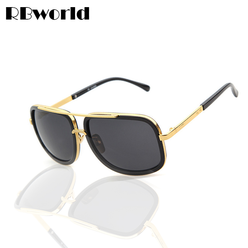 Big Framed Fashion Glasses : New Brand Square Big Frame Fashion Sunglasses Men ...
