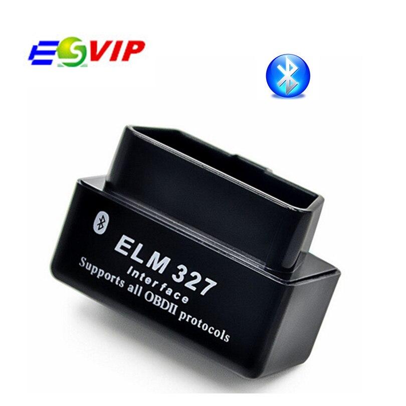 Цена за 200 шт./Супер Мини ELM 327 Bluetooth V2.1 Авто OBD2 Диагностический Сканер Инструмент ELM327 Мини Работ По Android Tourque DHL бесплатно