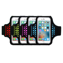 5.5inch Outdoor Waterproof sport bag Gym Running Jogging Armband Arm Band Belt phone Case Cover For iphone 7 Plus 6s Plus JC
