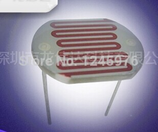 Free shiping 50PCS LDR 25MM Photoresistor 25528 Light Dependent Resistor 25528