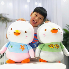 28cm-60cm Soft fat Penguin Plush Toys Staffed Cartoon Animal Doll Fashion Toy for Kids Baby Lovely Girls Christmas Birthday Gift