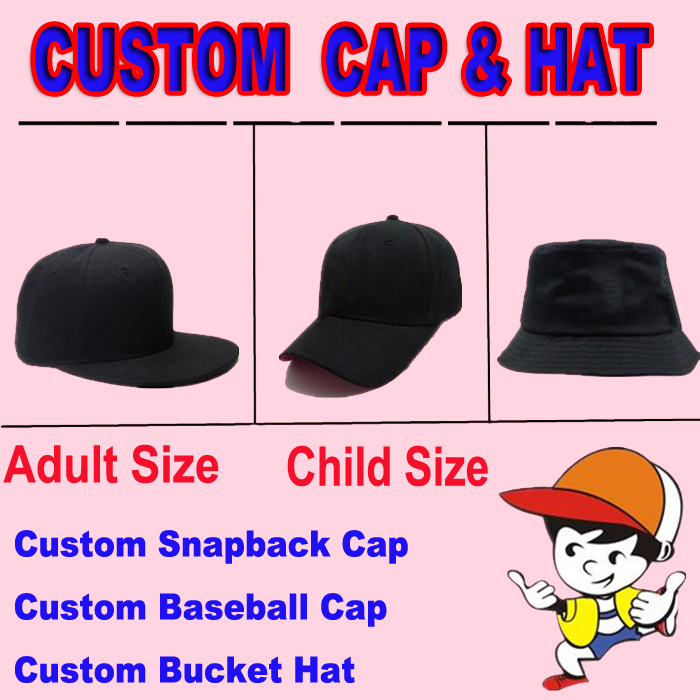 2018 Custom Hat And Cap Sample Custom Snapbacks Baseball Cap Bucket Hat For  Adult Size Child Size 2018 71dbe582ecf