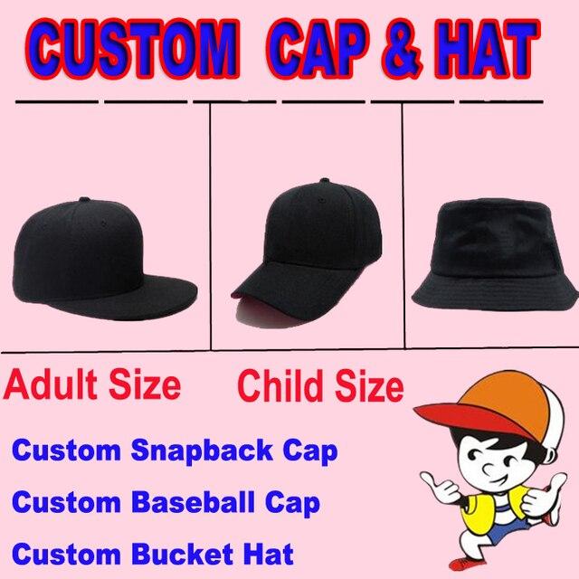 349245063d8 2018 Custom Hat And Cap Sample Custom Snapbacks Baseball Cap Bucket Hat For  Adult Size Child